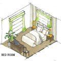 ホテルっぽい寝室を作るポイント。