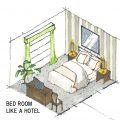 ホテルみたいな寝室にする方法